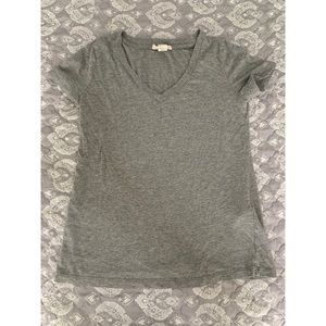 Grey V Neck Tshirt